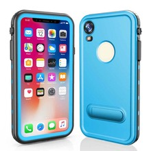 Original RedPepper Dot Series IP68 Waterproof Case Diving Underwater PC + TPU Armor Cover Coque For iphone X XR XS XSMax KS0193