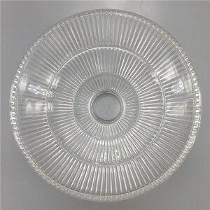 Image 5 - Винтажный стеклянный подвесной светильник в стиле индастриал, креативный зонтик с абажуром E27, Подвесная лампа для ресторана, бара, кафе