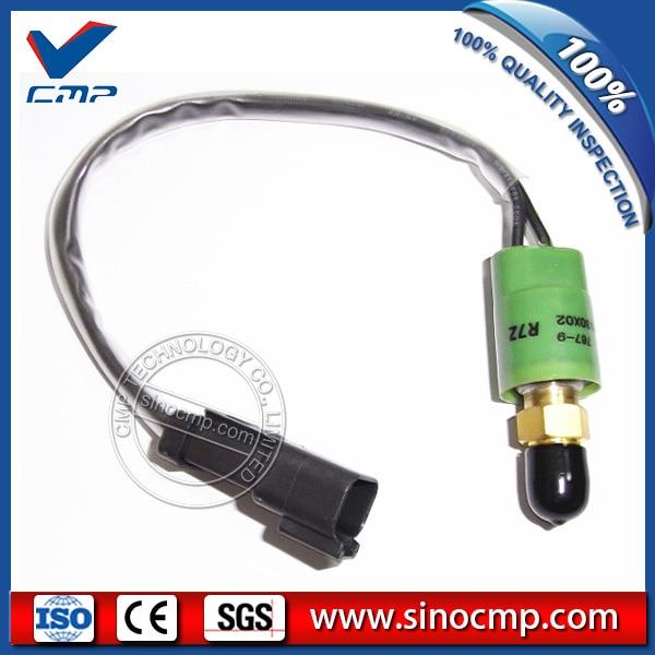 E320C Excavator Pressure Sensor 106-0180X02 with square plugE320C Excavator Pressure Sensor 106-0180X02 with square plug