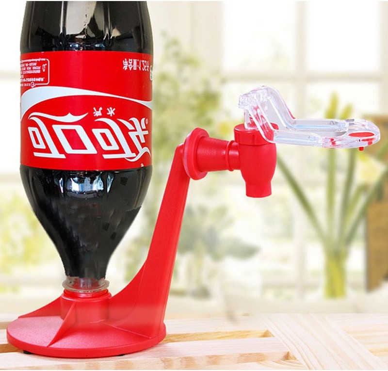 Gadgets Dispense Bottle Drink-Machines Magic-Tap-Saver Coke Kitchen Party Bar The Down