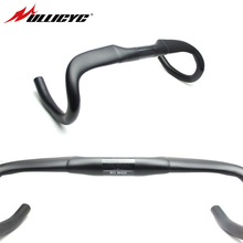цена на Newest Road Bike Full Carbon Fibre Black Handlebar Carbon Bicycle Handlebar Bike Parts King Handlebar 31.8mm*400/420/440mm
