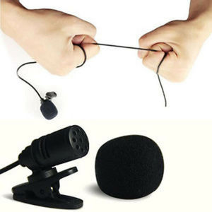 3.5mm Clip On Lapel Microphone