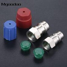 Mgoodoo AC Adaptador de Porta Encaixe R12 Para Aceitar R134 Retrofit 1/4