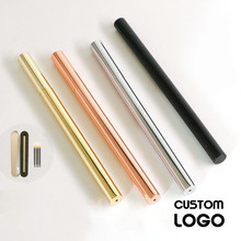 Metal Brass Pens Retro Gel Pens Stationery With Gifts Box Signature Pen High-end Business Laser Engraving Lettering Custom Logo