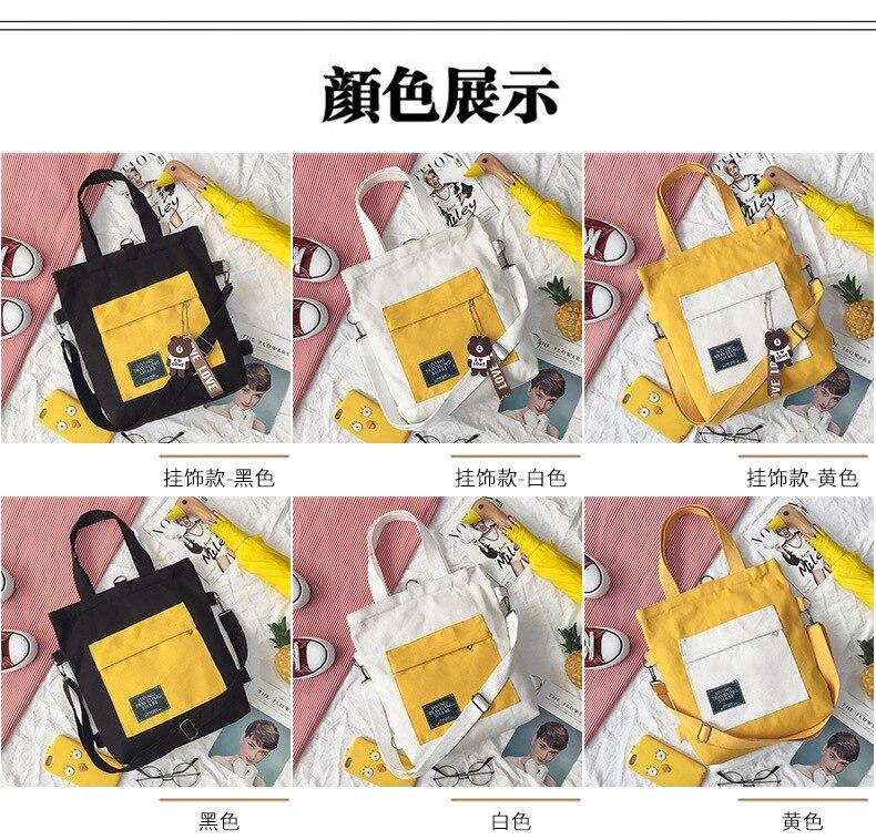 do sexo feminino sacos de escola sacos de ombro casuais