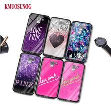 Black Silicone Case My Secret Love Pink for Samsung Galaxy j8 j7 j6 j5 j4 j3 Plus Prime 2018 2017 2016 Phone Bag Cover аксессуар чехол with love moscow samsung galaxy j7 2017 кожаный black 10207