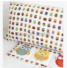 Hohe qualität B Stil Kleine Eule 140*30 cm Baumwolle leinen baby bediing patchwork für tischdecke, vorhang, bettwäsche, heimtextilien