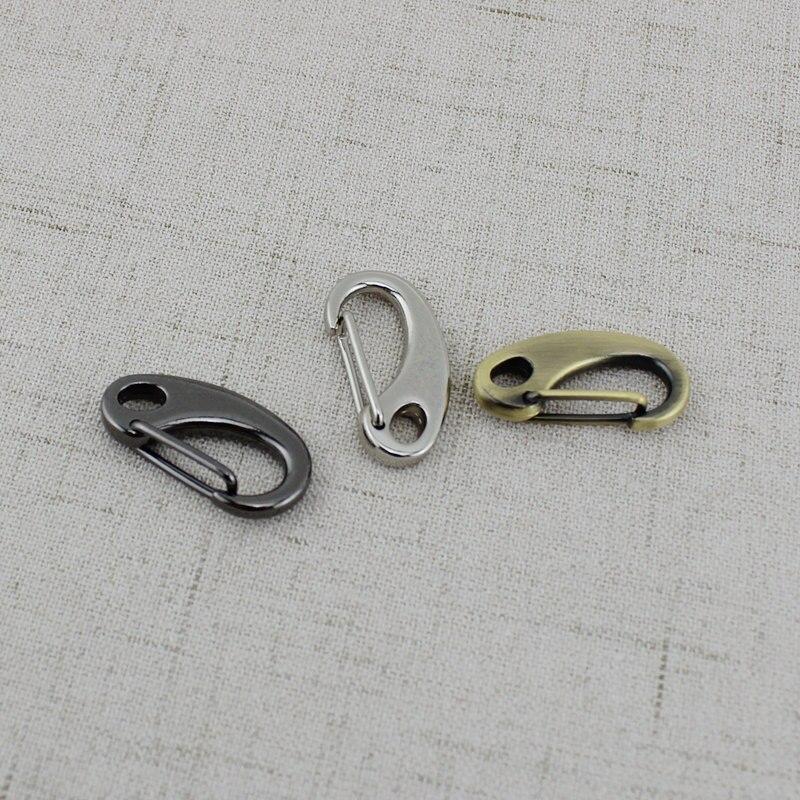 50pcs 10pcs 3 Colors Inner 7mm  Connector Hanger Tone Trigger Snap Hook Clasp Metal Clip Swivel Dog Leash Hardware