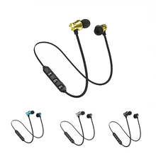 Bluetooth Earphone Sport Wireless Headphone Super Bass Heads