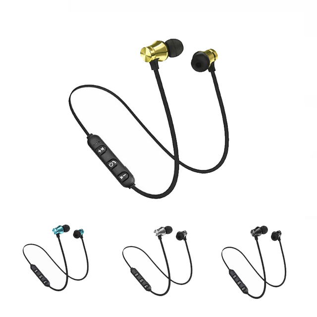 Bluetooth Earphone Sport Wireless Headphone Super Bass Headset Handsfree Earbuds With Mic For Huawei Xiaomi
