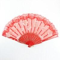 Hot Selling Silk Hand Held Fan Ladies Folding Fan Wing Chun Dance Fan Wedding Fan GYS902