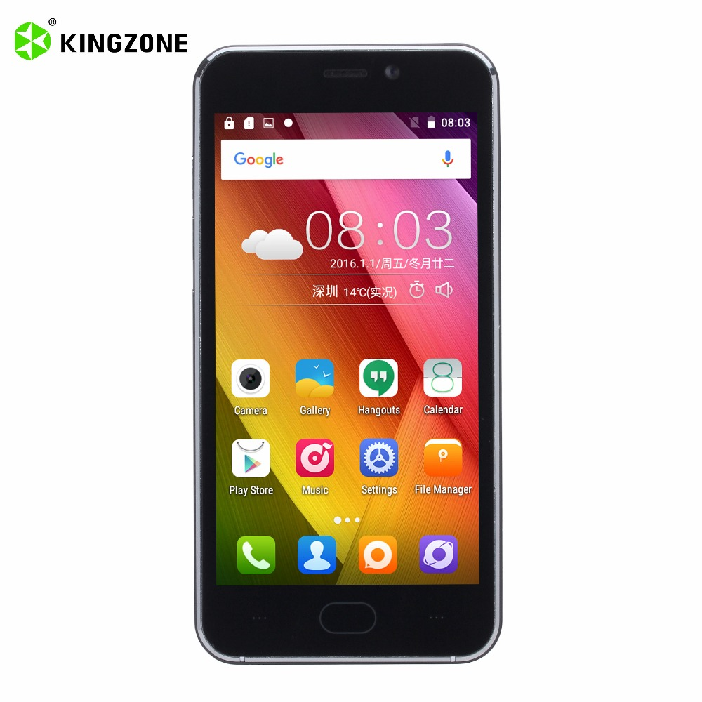 Kingzone S2 3G Smart Mobile Phone 4 5 inch 8GB ROM 1GB RAM Quad Core GSM