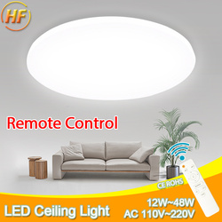 ceiling lights Ultra Thin LED Ceiling Light  Modern led Lamp Fixture Living Room Bedroom Kitchen Surface Mount Remote Control