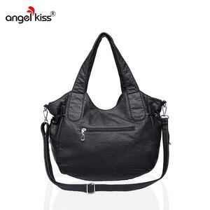 Image 4 - Angelkiss bolsa feminina bolsas de couro do plutônio feminino bolsa de ombro crossbody bolsa de ombro superior alça bolsa bolsa bolsa bolsa