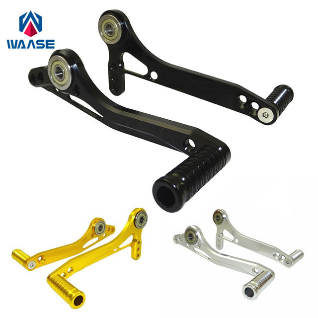 waase Adjustable Rearset Rear Sets Replacement Shift Linkage Pedal Brake Shifter Pedal Lever Footrest Spare Parts 2pcs