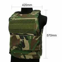 safe 2pcs level nij iiia 25x30cm alloy steel anti bulletproof panel light ballistic plate for tactical vest backpack insert Security Guard Vest Bulletproof Vest Cs Field Genuine Tactical Vest Clothing Cut Proof Protecting Clothes For Men Women