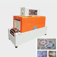Máquina de embalagem plástica retrátil da luva do calor do filme do psiquiatra da máquina da bolha automática do aferidor do filme do calor do pvc BS-260