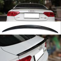 Carbon Fiber Car Rear Wing Trunk Lip Spoilers For AUDI A5 S5 RS5 2017 2018 2019 (Only For 4 Doors Audi A5 2017 2019)