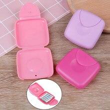 Femmes serviette hygiénique écouvillon Tampon boîte Portable voyage boîte vagin Tampons similaires avec coupe menstruelle pour garder la boîte de Tampons