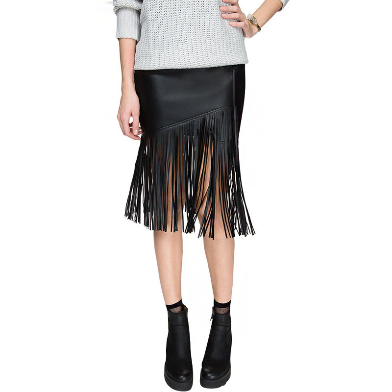 Online Get Cheap Fringe Leather Skirt -Aliexpress.com | Alibaba Group