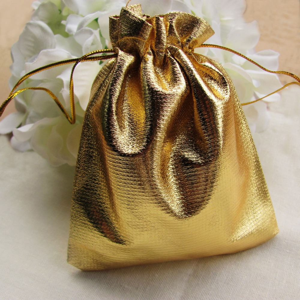 Popular Gold Gift Bags-Buy Cheap Gold Gift Bags lots from China ...