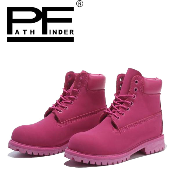 Pathfind women Leather ankle winter Boots Waterproof Motorcycle Martin army casual timber shoes Tooling ladies sexy 2017 Botas pathfind luxury brand leather ankle snow boots europe style motorcycle martin tooling military boots men outdoor casual shoes