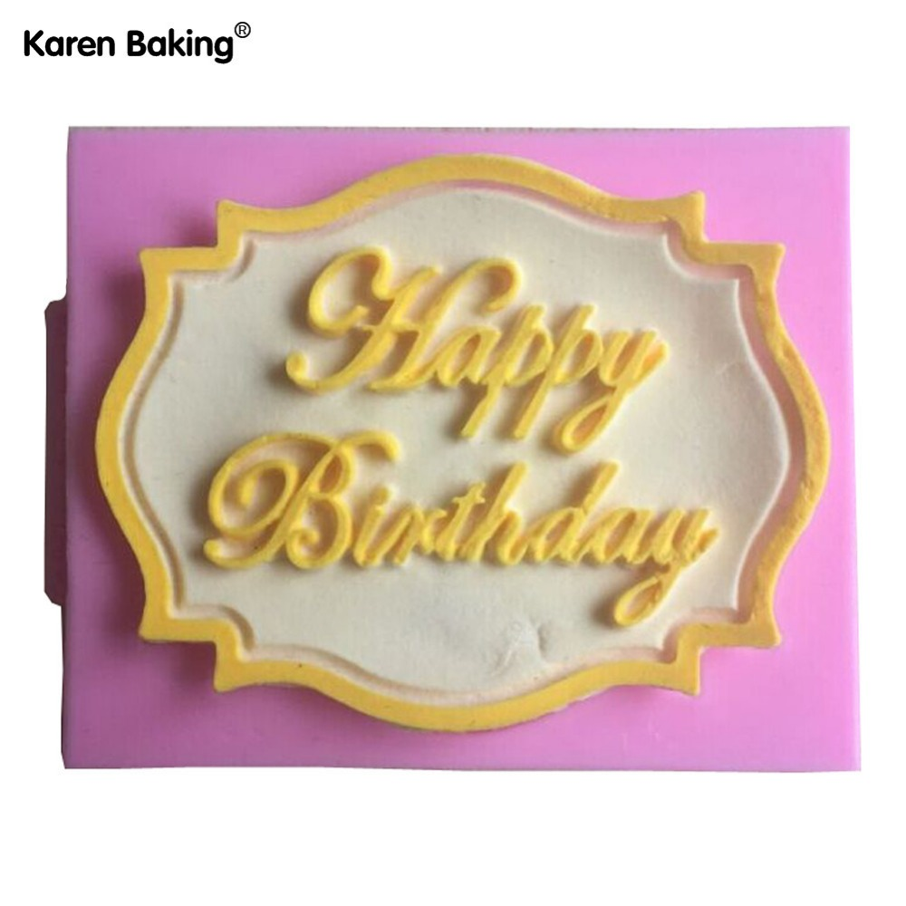 Happy Kitchen Decoration Cake: Online Shopping Happy Birthday Chocolate Molds Reviews