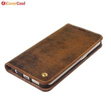 For Samsung Galaxy S6 Edge G925 Case Vintage Genuine Leather Wallet Fundas Capa Coque for Samsung S6 G920 Cover Carcasas Hoesje