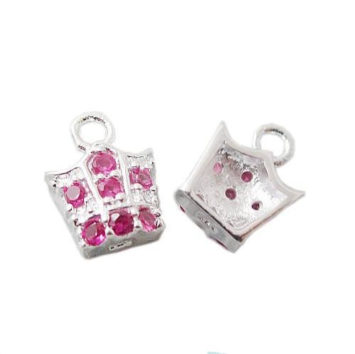 Schmuck & Zubehör Beadsnice Id24304 Hand Tasche Form Vintage 925 Sterling Silber Charms QualitäT Zuerst