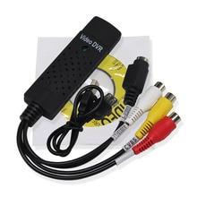 1 шт. USB 2,0 Easycap Аудио видео DVD VHS запись захвата карты конвертер ПК адаптер