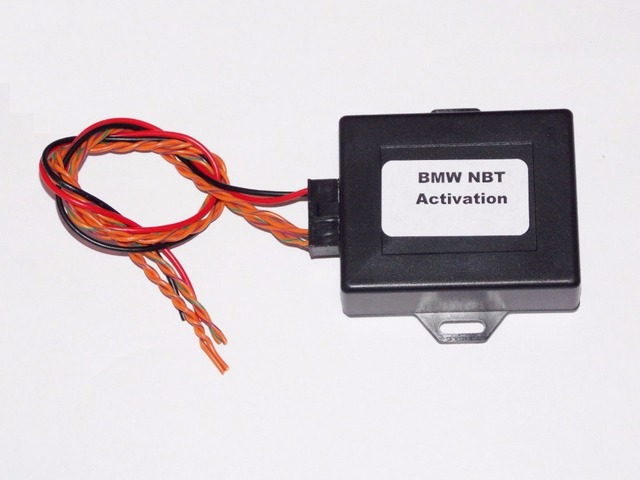 for BMW F10 F30 F20 F15 NBT EVO retrofit navigation canfilter emulator adapter  NEWEST VERSION