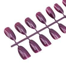 Matowy fałszywy lakier do paznokci mocne przedłużenie 24 szt. Tipsów wymaga kleju żelowego do prasowania na paznokciach do zdobienia paznokci
