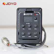 New Joyo Pickup  For Guitar JE-306 5 Band EQ with Tuner guitar accessories guitar pick holder