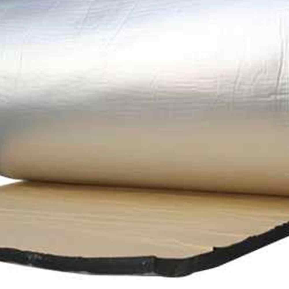 Nouveau bouclier thermique de voiture isolation acoustique Deadener Mat feuille d'aluminium voiture insonorisant isolation acoustique mousse d'amortissement acoustique