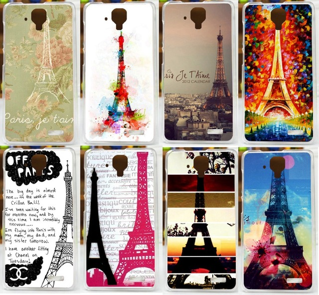 Eiffel Tower Painted Case For Lenovo A536 Hot Selling New