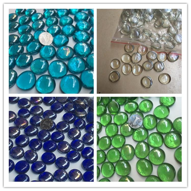Home Stones Decoration: 10Pcs /lot Multicolor Aquarium Decoration Acrylic Stones