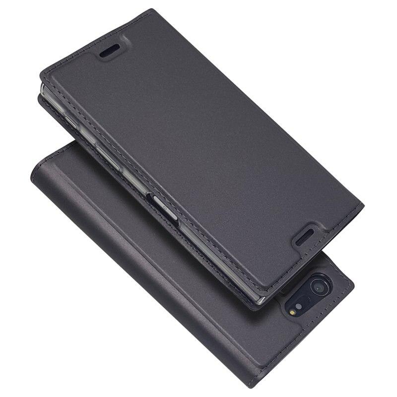 Для sony X Compact Чехлы для Coque sony Xperia X Compact флип чехол кожаный телефон чехол бумажник отделения для карточек держатель мешка Coque
