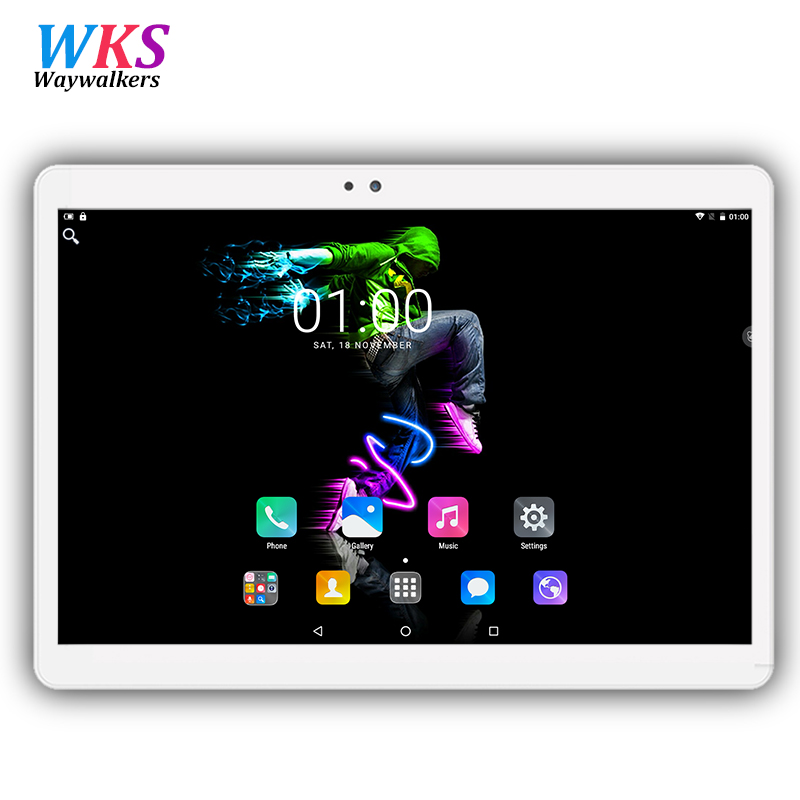 Free shipping 10.1 inch tablet PC Android 7.0 Phone call octa core RAM 4GB ROM 32/64GB 1920x1200 IPS Dual SIM Children's tablets waywalkers 10 inch tablet pc android 7 0 octa core ram 4gb rom 32 64gb 1920 1200 ips dual sim wifi bluetooth gps tablets phone