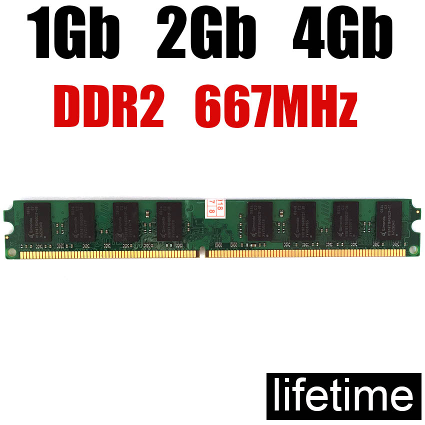 RAM Memory DDR2 667 8Gb 4Gb 2Gb DDR 2 8 Gb / For PC RAM 2Gb Ddr2 667MHz 8G 4G 2G 1G 800MHZ 800 533 ( For Intel & For Amd )