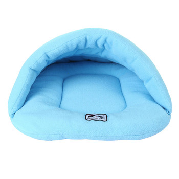 Dog Bed Kennel Fleece Winter Soft Warm Sofa Mats Rabbits Hamster Sleep Bag House Nest Pad Cat Puppy For Cats Dogs BFOF 1