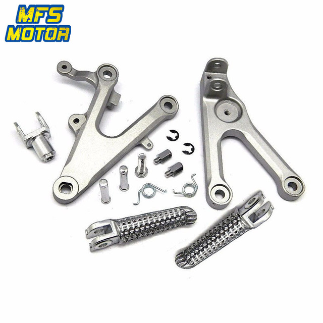 For Yamaha YZF R6 R6S R1 Front Rear Passenger Foot Pegs