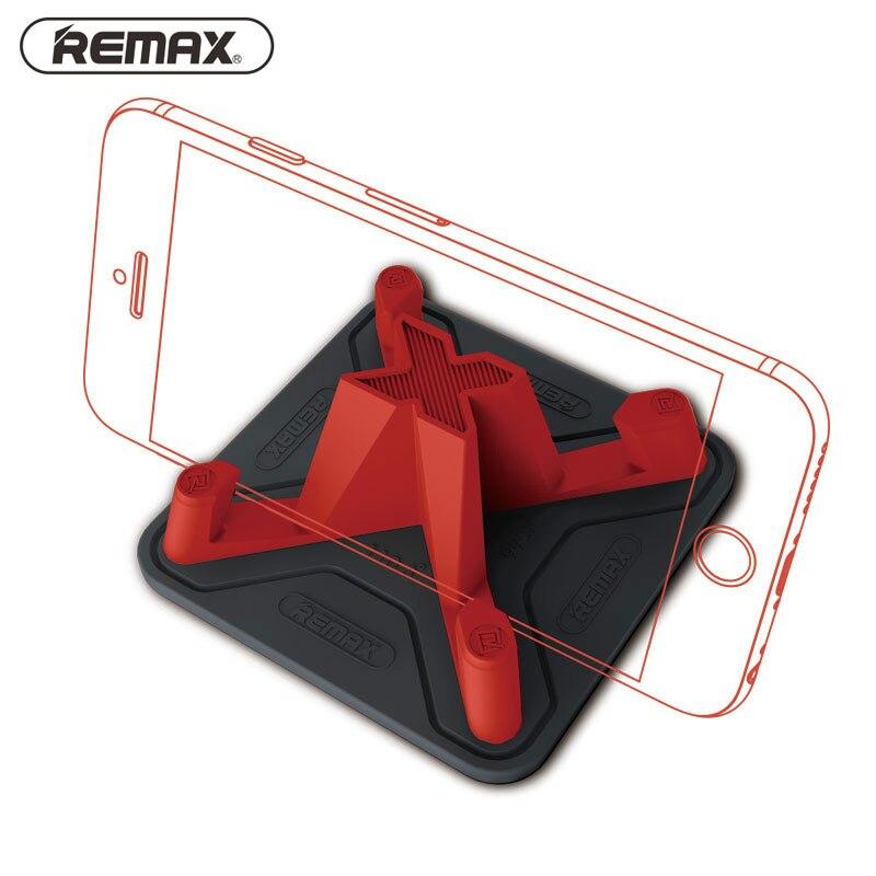 Supporto per telefono Remax Supporto per tappetino antiscivolo in silicone morbido per telefono cellulare intelligente Supporto per auto per iPhone 7 5s 6 samsung S7