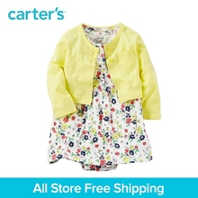 Carter's 2pcs baby children kids Yellow Bodysuit Dress Sets 121H351,sold by Carter's China official store