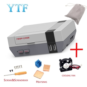 Image 1 - حافظة عالية الجودة من NES NESPI مزودة بمروحة تبريد مصممة لتوت العليق Pi 3/2/B +