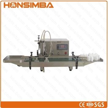 two nozzles automatic liquid filling machine  with conveyor automatic liquid packing machine liquid packager liquid filling and sealing machine liquid packing machine