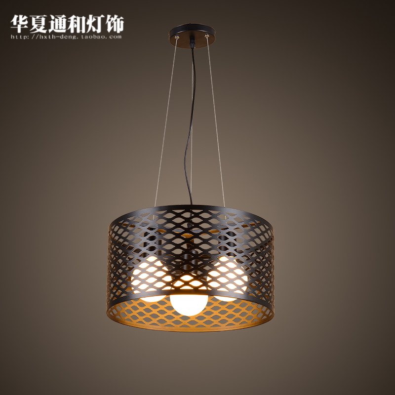 Modern minimalist pendant lights restaurant European style village industrial lamp loft living room lamp plate european style retro glass chandelier north village industrial study the living room bedroom living rough bar lamp loft