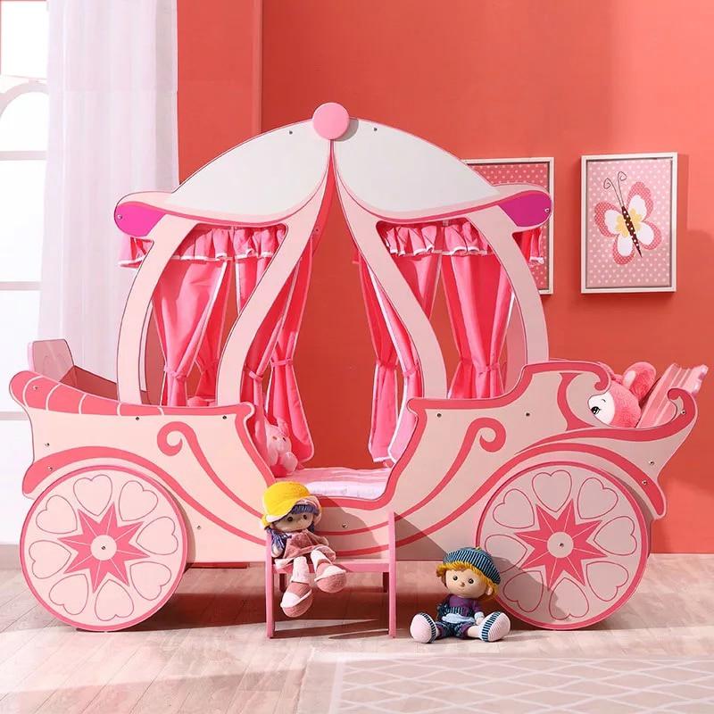 Princess Children's Bedroom Furniture Sets Bed Girl  Bed Princess Bed Single Bed