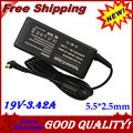 Nova 19 V 65 W 5.5*2.5 Laptop AC Power Adapter Fonte para toshiba satellite l505 l450 l300 para acer sadp-65kb x43bu s-7200 CX200