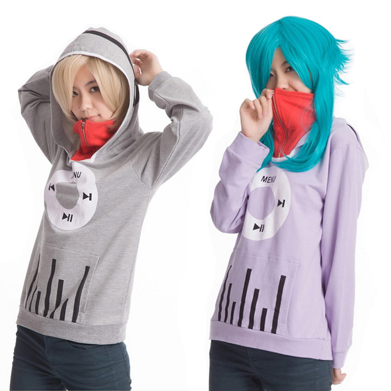 Adults Autumn NEW Sweatshirt Coat Anime MekakuCity Actors Kido Costume Coat Sweatshirt Hoody Jacket for Unisex