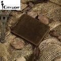 Hot sale crazy  horse leather wallet men purse  genuine leather short design wallets retro two-fold multi-card billfold  8029